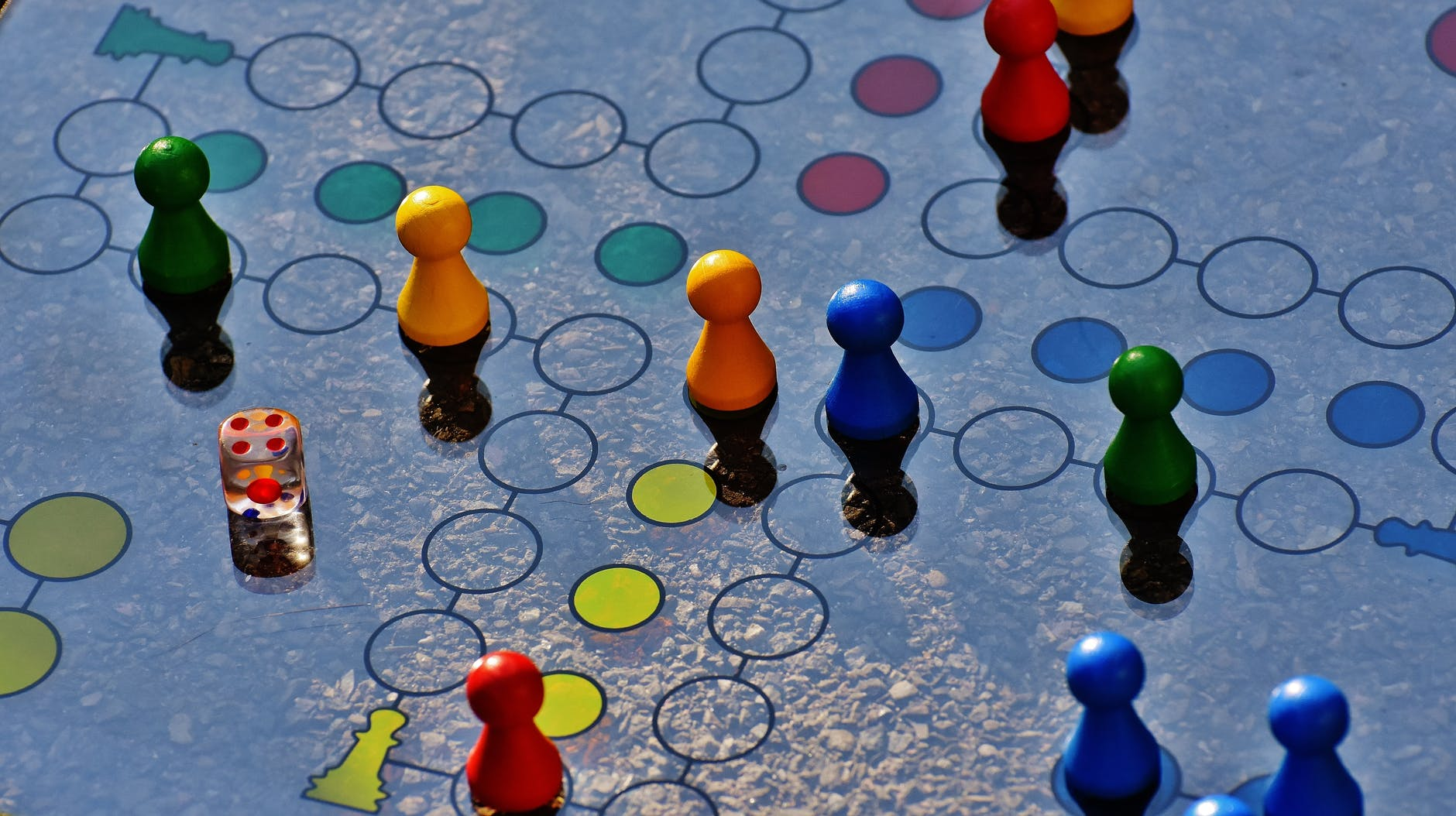 blue and yellow board game, Photo by Pixabay on Pexels.com